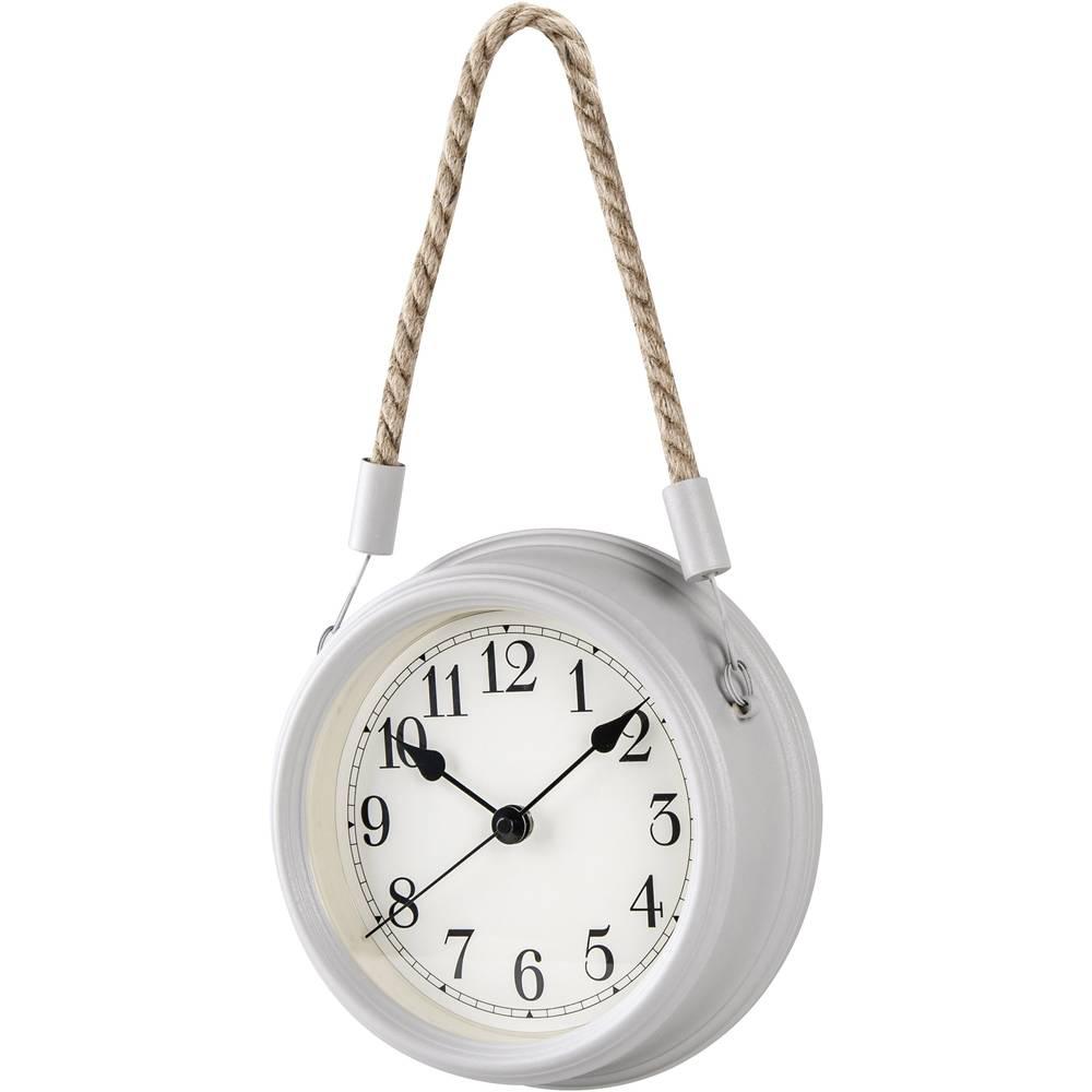 Techno Line WT 7130 Quartz nástěnné hodiny 22 cm x 6.8 cm bílá