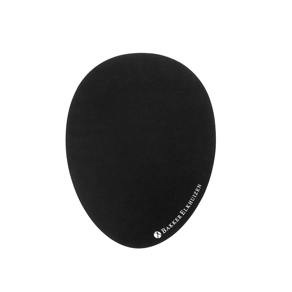 BakkerElkhuizen The Egg podložka pod myš ergonomická černá (š x v x h) 300 x 2 x 230 mm
