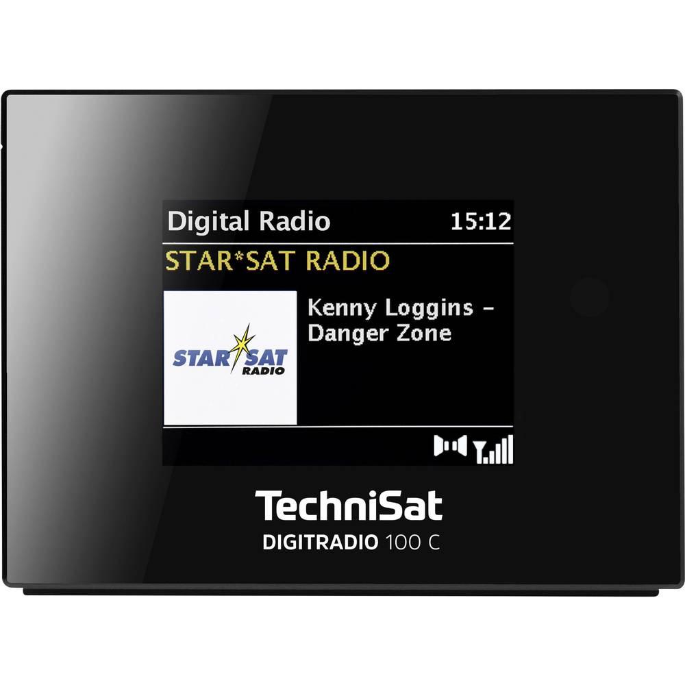 TechniSat DIGITRADIO 100 C Hi-Fi tuner DAB+, FM Bluetooth černá