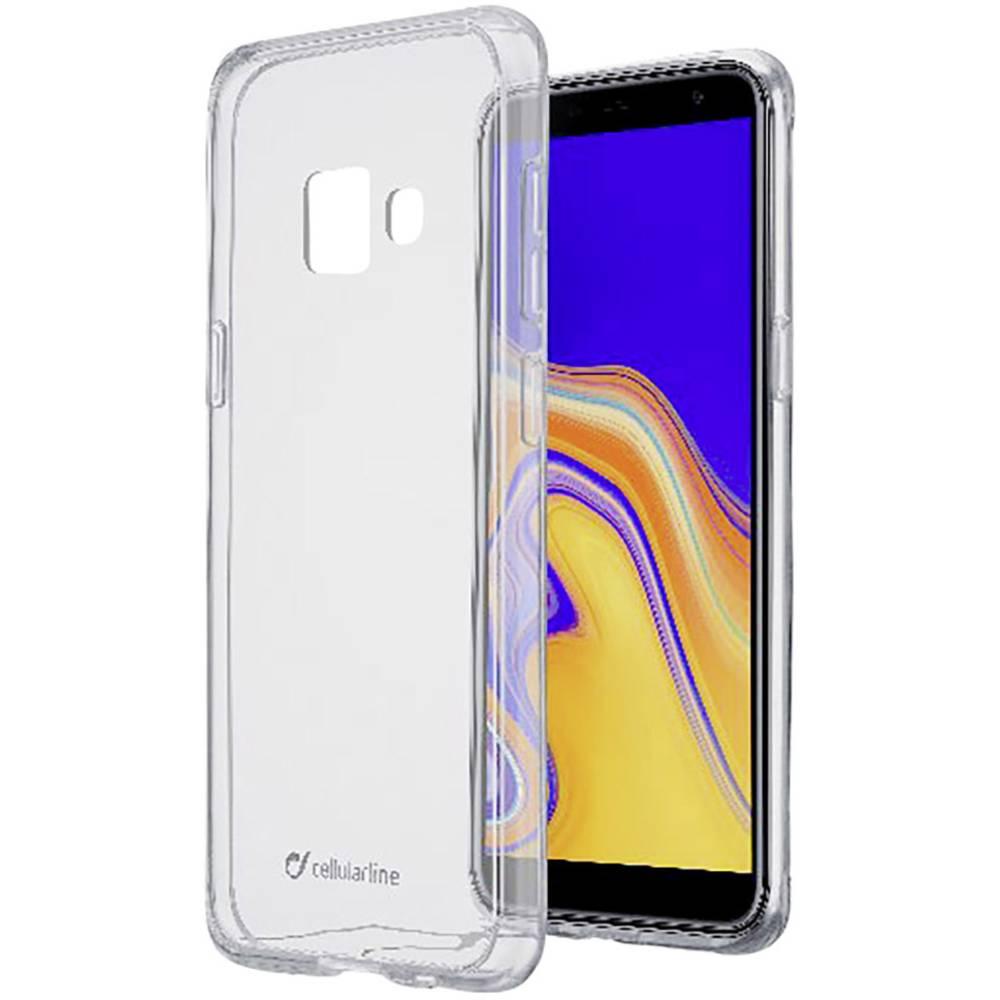 Cellularline Clear zadní kryt na mobil Samsung Galaxy J4 Plus (2018) transparentní