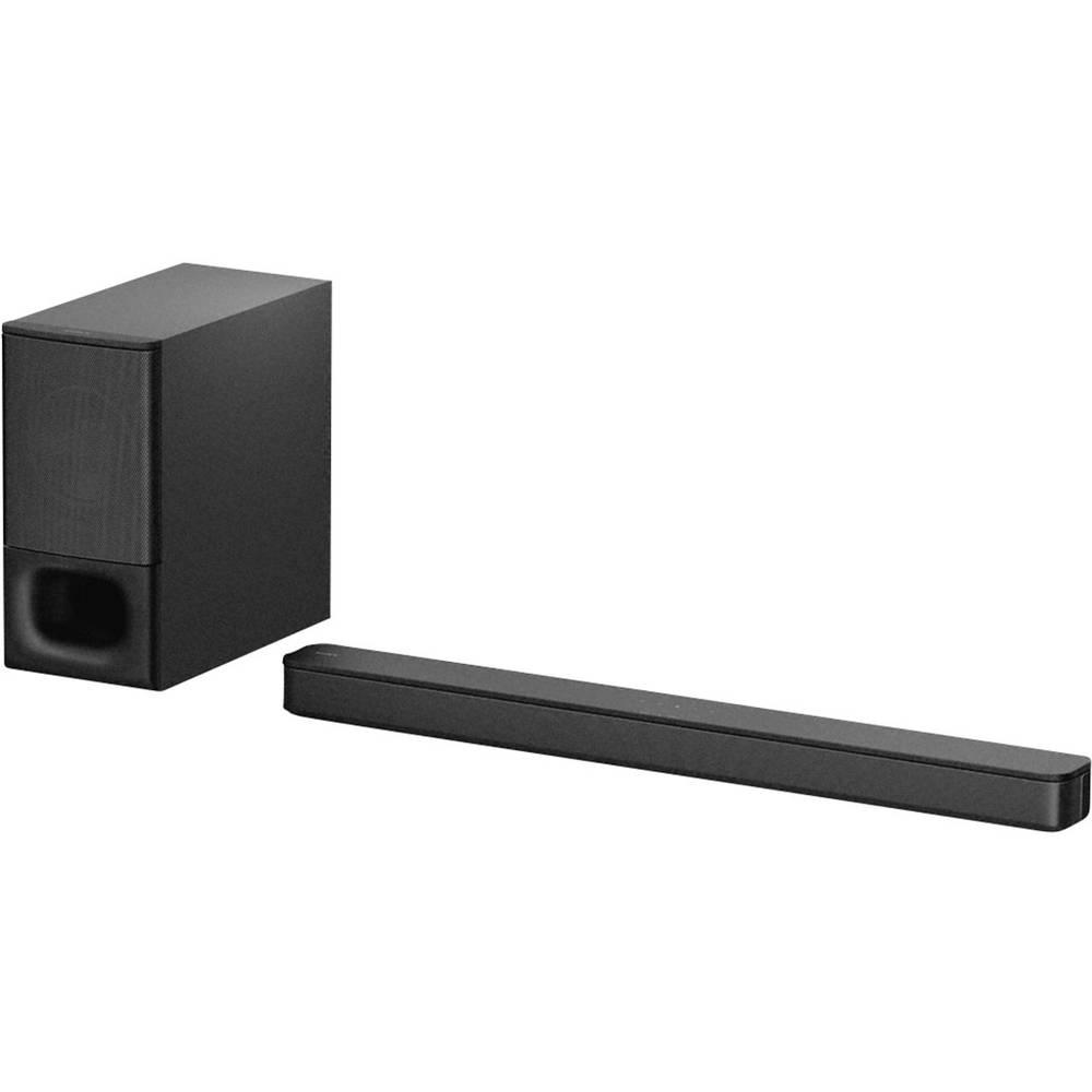 Sony HT-S350 Soundbar černá Bluetooth®, vč. bezdrátového subwooferu, upevnění na zeď