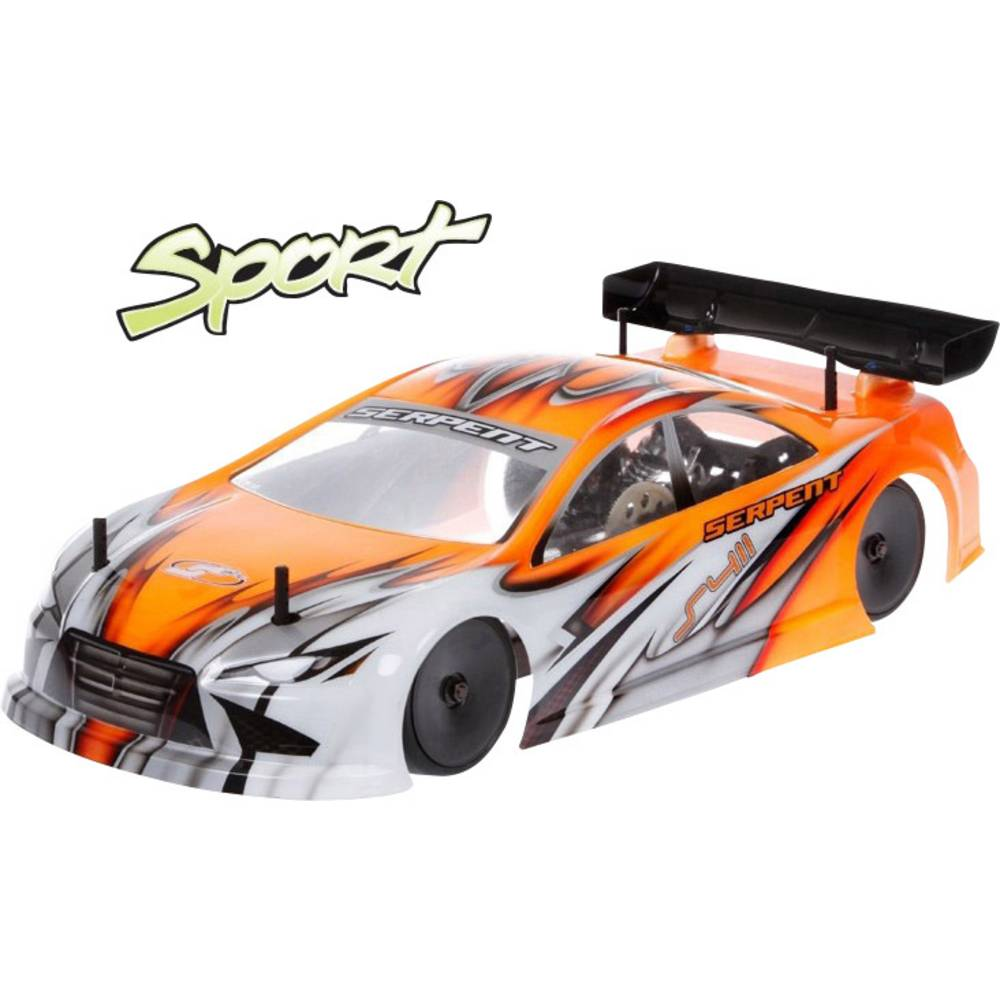 Serpent 411 Sport 1:10 RC model auta elektrický silniční model 4WD (4x4) stavebnice