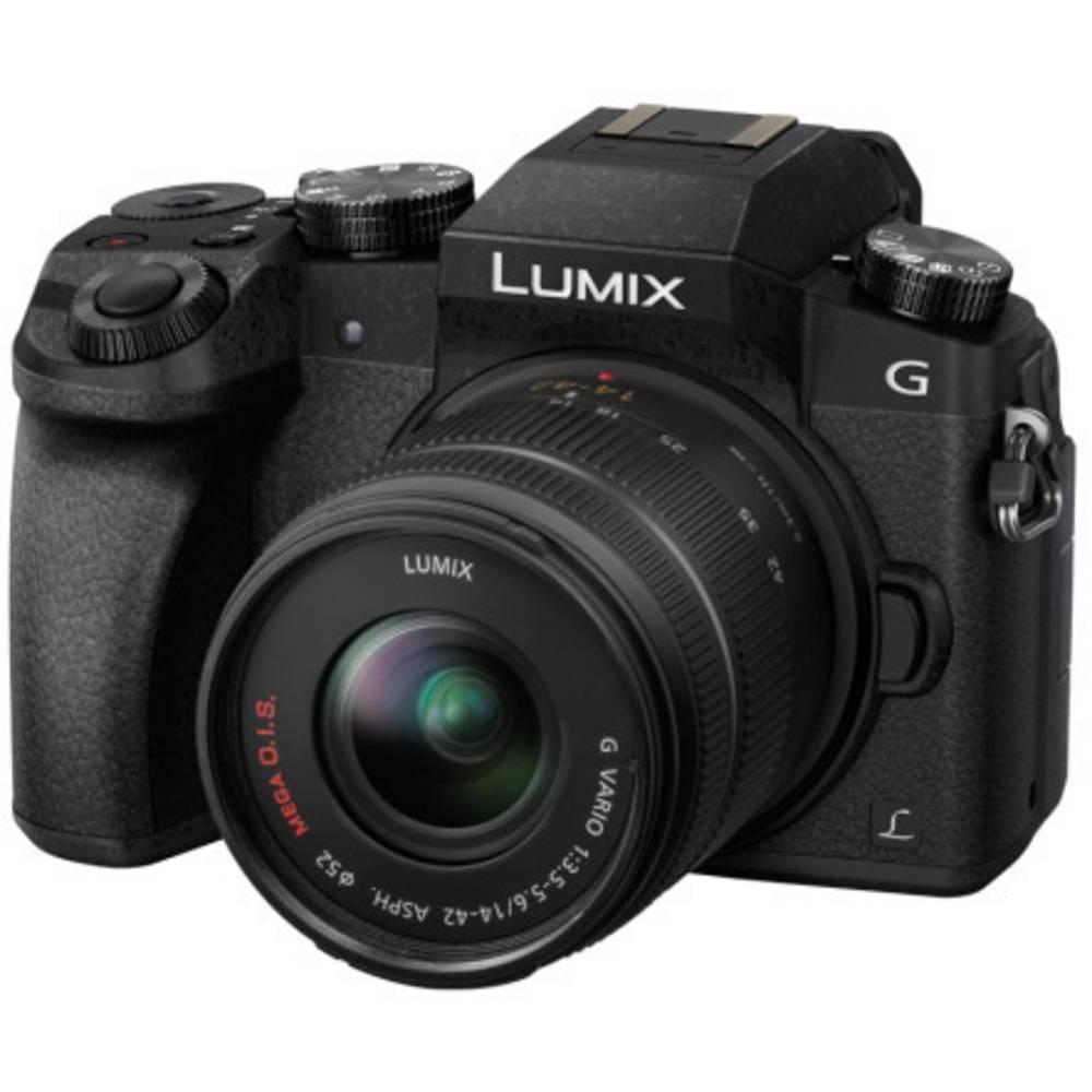 Panasonic DMC-G70KAEGK systémový fotoaparát 16 Megapixel černá