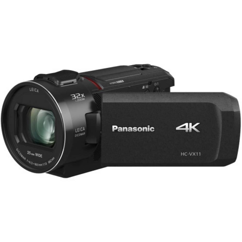 Panasonic HC-VX11EG-K Kamera 7.6 cm 3 palec 8.57 Megapixel Zoom (optický): 24 x černá