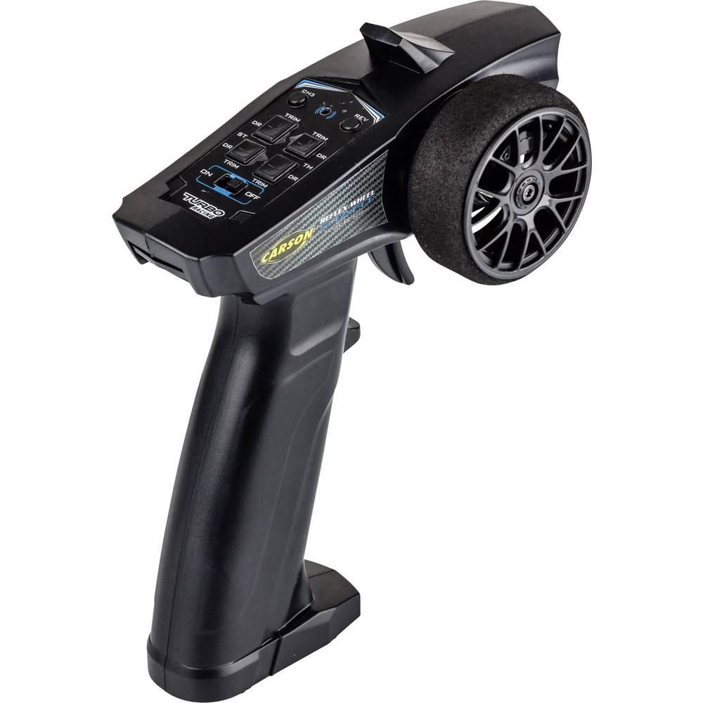 Carson Modellsport Reflex Wheel Start RC pistolové dálkové ovládání 2,4 GHz Kanálů: 3 vč. přijímače
