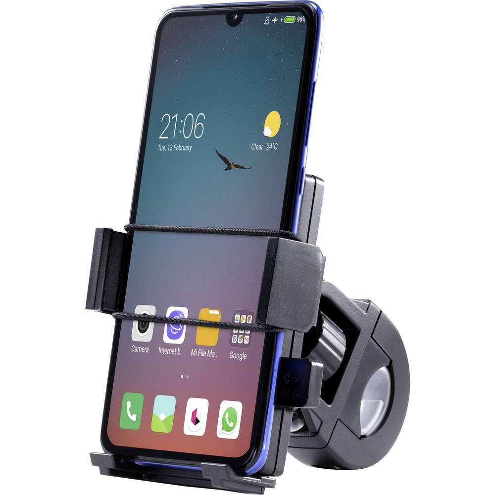 Renkforce Držák mobilu na kolo Vhodné pro: Universal Šířka (max.): 95 mm