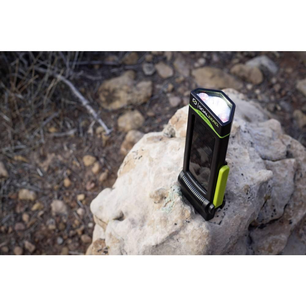 Goal Zero 90110 Torch 250 LED LED campingové osvětlení 250 lm solární napájení, dynamo, napájeno akumulátorem 408 g černá, žlutá