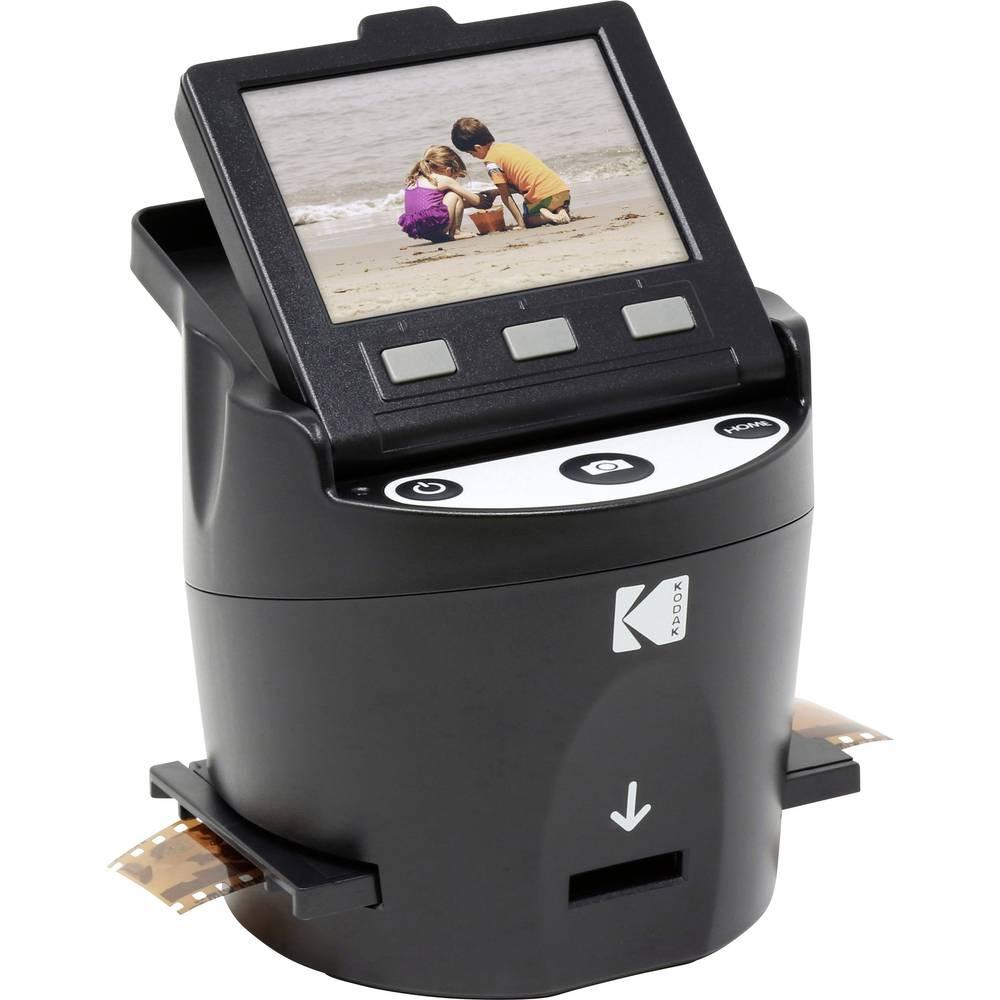 Kodak SCANZA Digital Film Scanner filmový skener 14 MPix prosvětlovací jednotka, integrovaný displej, digitalizace bez PC, TV výstup