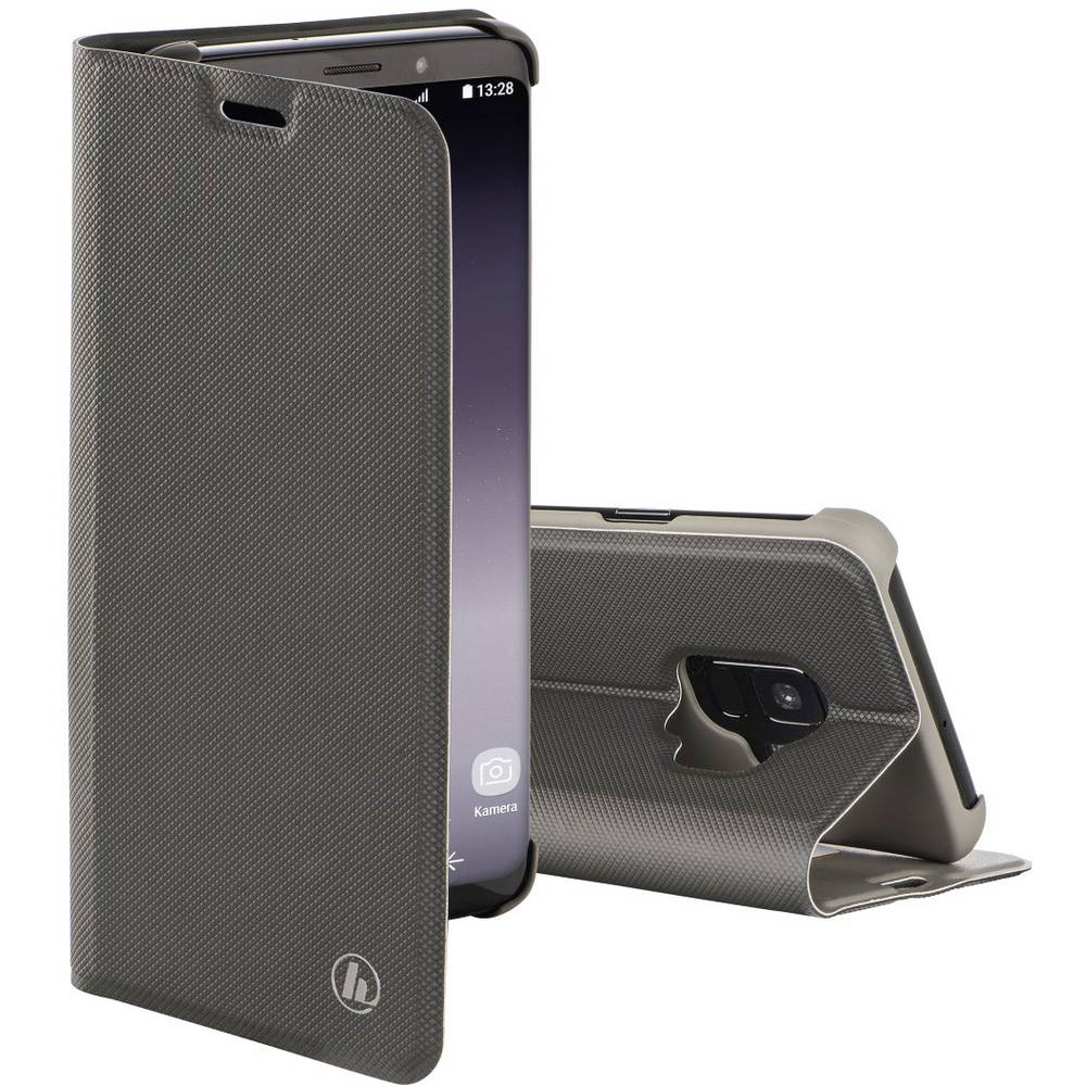 Hama Slim Pro Booklet Samsung Galaxy S9 šedá