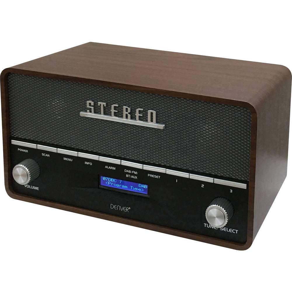Denver DAB-36 stolní rádio DAB+ dřevo