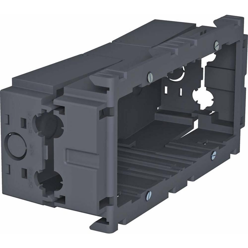 6288611-BK vestavná krabice zásuvka pro přístrojovou jednotku černá