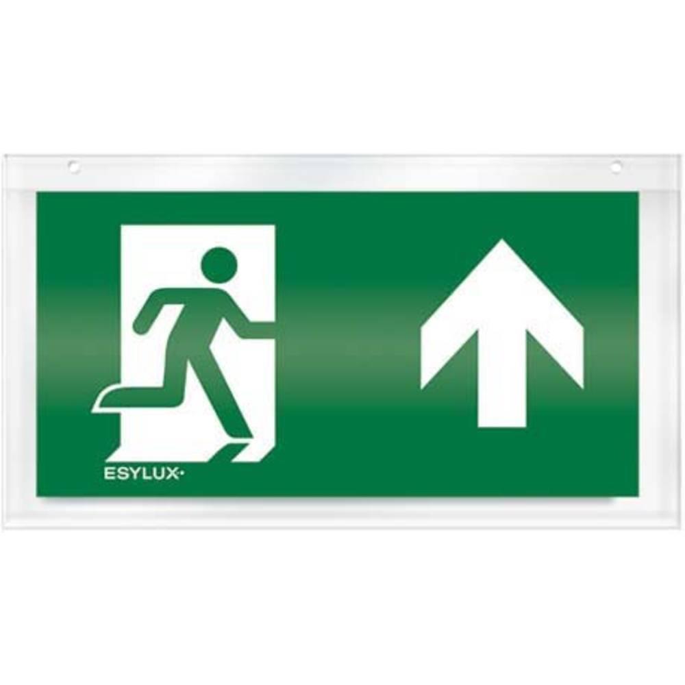 ESYLUX EN10032639 piktogram nouzový východ výše, nouzový východ před vámi