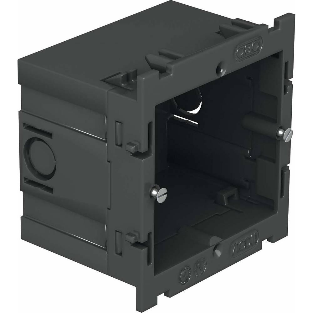6288532 vestavná krabice zásuvka pro přístrojovou jednotku 71 mm černá