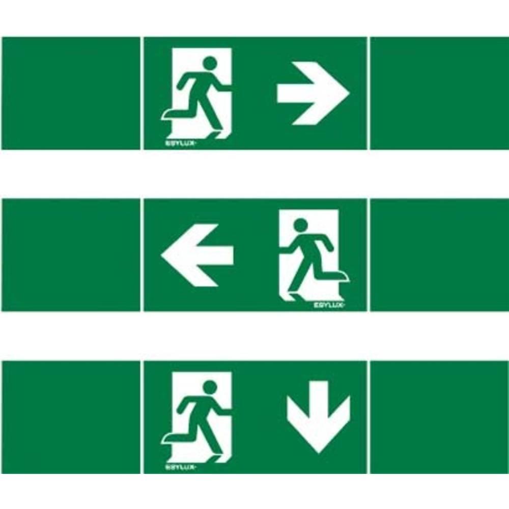 ESYLUX EN10017711 piktogram Nouzový východ vlevo, Nouzový východ vpravo , nouzový východ níže