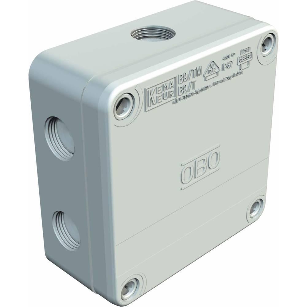 OBO Bettermann 2001802 rozbočovací krabice (d x š x v) 50 x 110 x 110 mm šedá IP67 1 ks