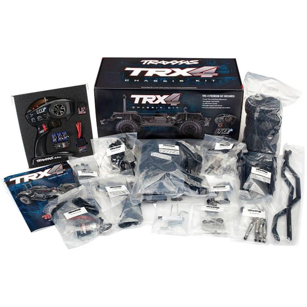 Traxxas TRX4 komutátorový 1:10 RC model auta elektrický Crawler 4WD (4x4) stavebnice 2,4 GHz