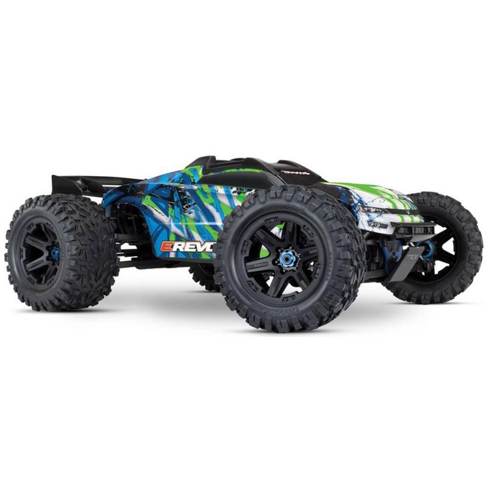 Traxxas E-Revo střídavý (Brushless) 1:10 RC model auta elektrický Truggy 4WD (4x4) RtR 2,4 GHz