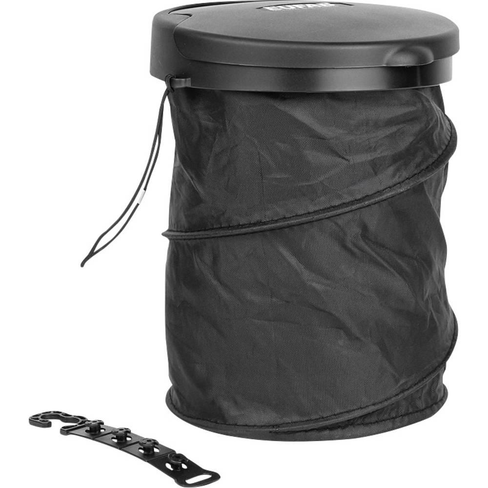 Eufab Garbage bucket foldable 17526 odpadkový koš 4 l (Ø x v) 160 mm x 205 mm černá 1 ks