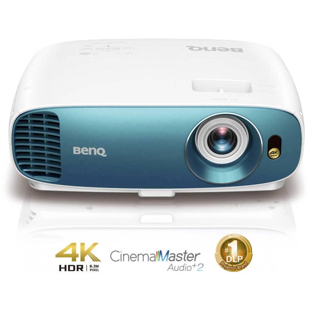 BenQ projektor TK800M DLP Světelnost (ANSI Lumen): 3000 lm 3840 x 2160 UHD bílá, modrá