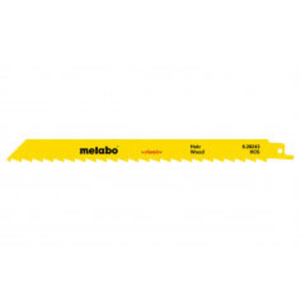Metabo 628244000 Pilové listy pro pilu ocaska METABO 5, dřevo 225 5 ks