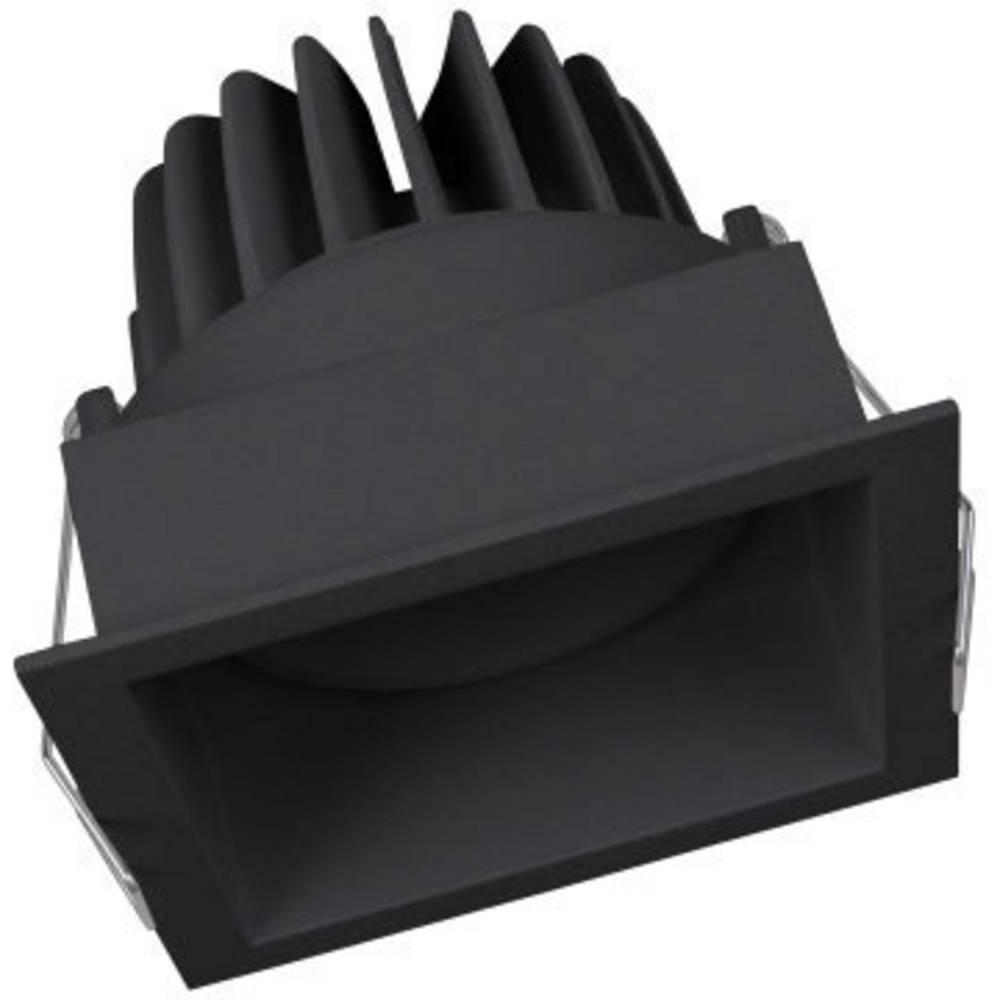 LEDVANCE SPOT SQUARE DARKLIGHT ADJUST (EU) 4058075114067 LED vestavné svítidlo 8 W teplá bílá černá
