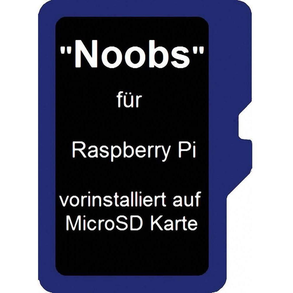 Raspberry Pi® Noobs operační systém 64 GB Vhodné pro: Raspberry Pi
