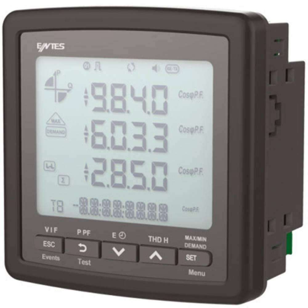 ENTES MPR-46S-96 digitální panelový měřič ENTES MPR-45S-96 multimetr vestavný přístroj RS485 16 MB paměti