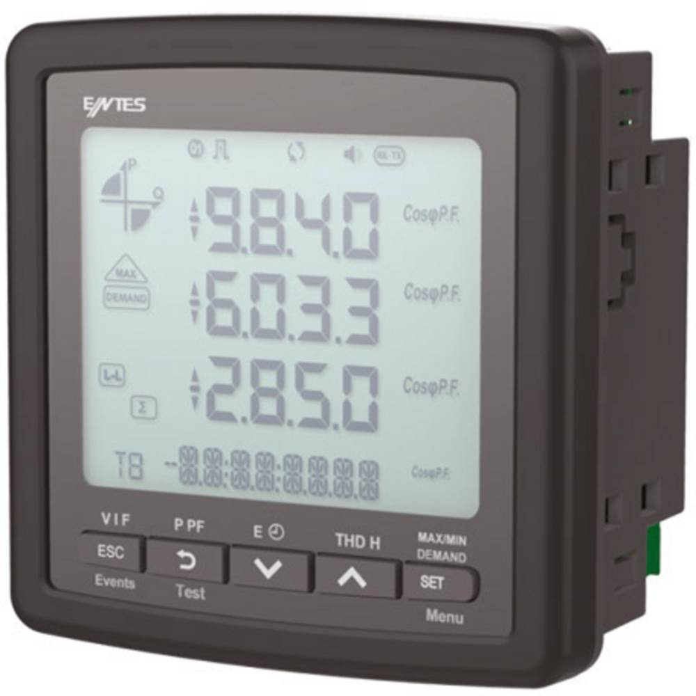 ENTES MPR-45-96 digitální panelový měřič ENTES MPR-45-96 multimetr vestavný přístroj
