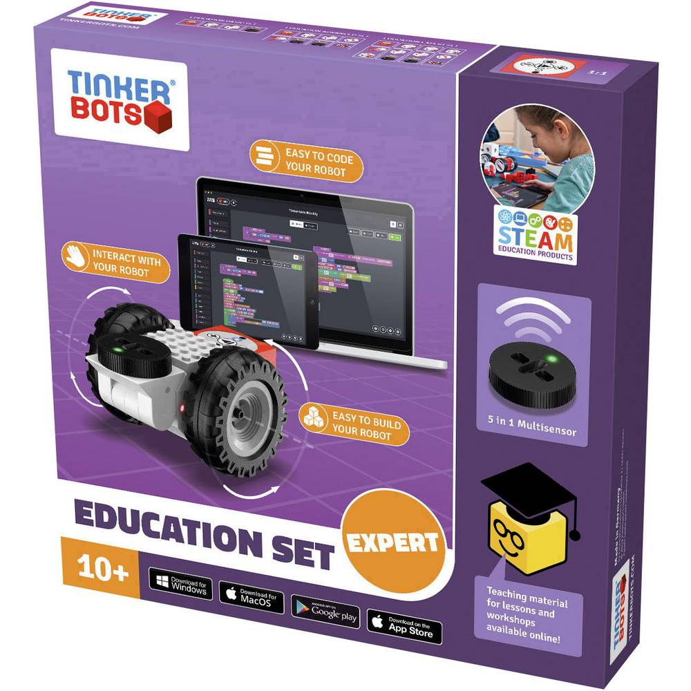 TINKERBOTS stavebnice robota Education Expert Set 00152