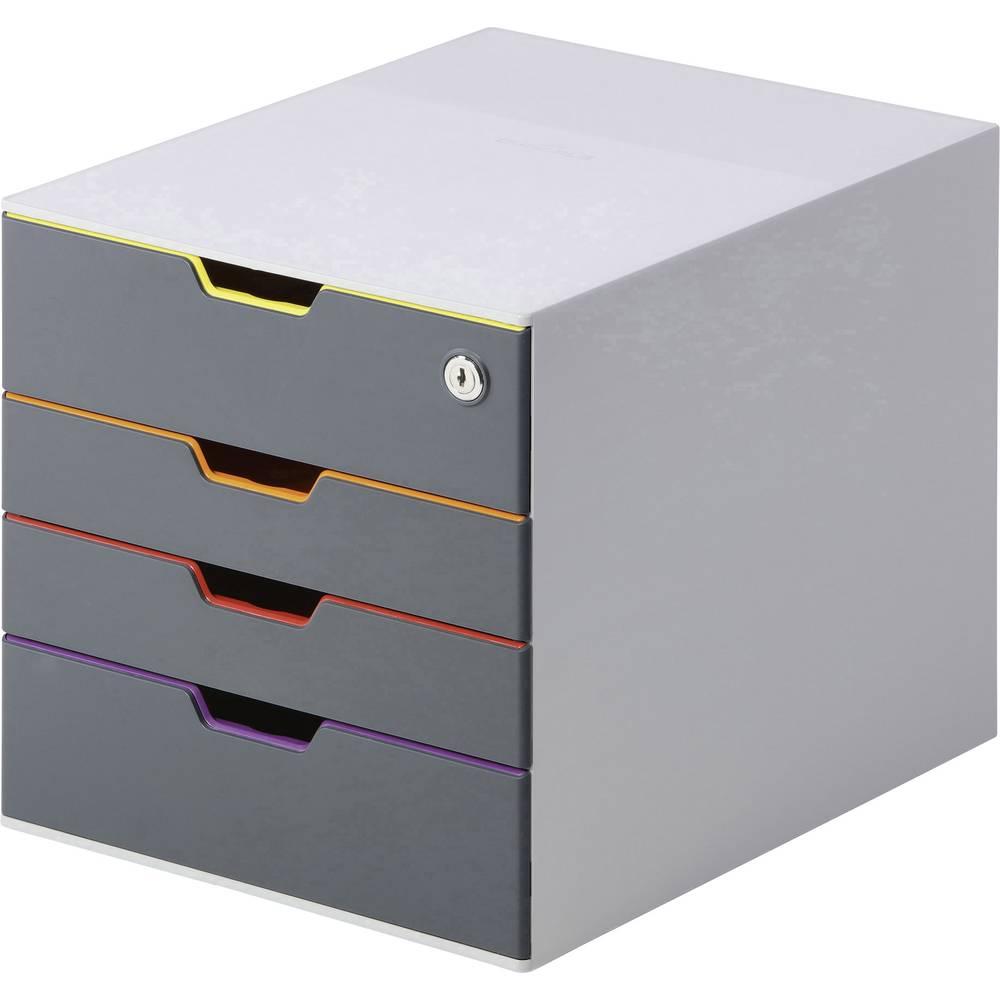Durable VARICOLOR SAFE 760627 box se zásuvkami šedá DIN A4, DIN C4 , Folio , Letter Počet zásuvek: 5