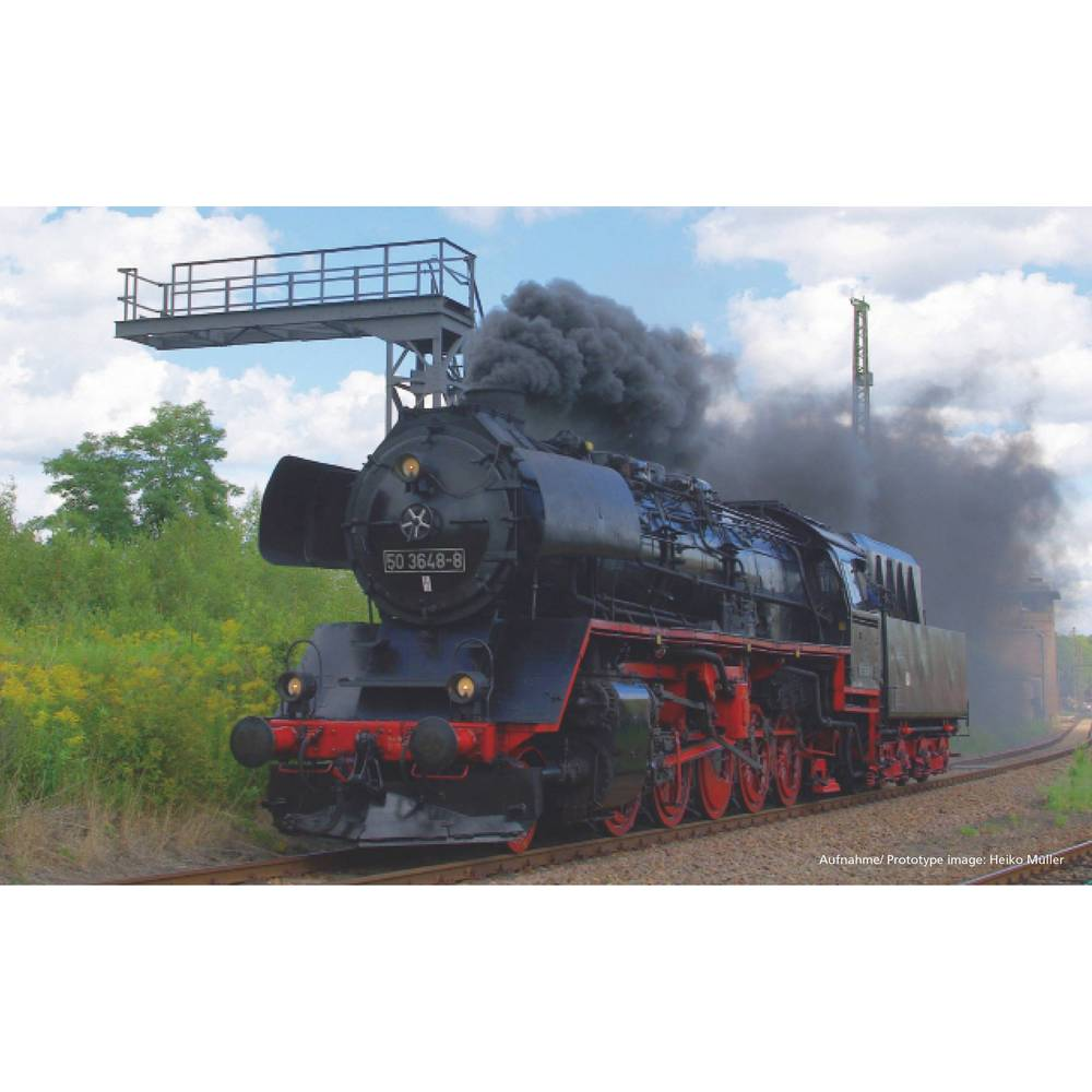 Piko G 37241 G parní lokomotiva se zvukem BR 50, DR Parní lokomotiva se zvukem