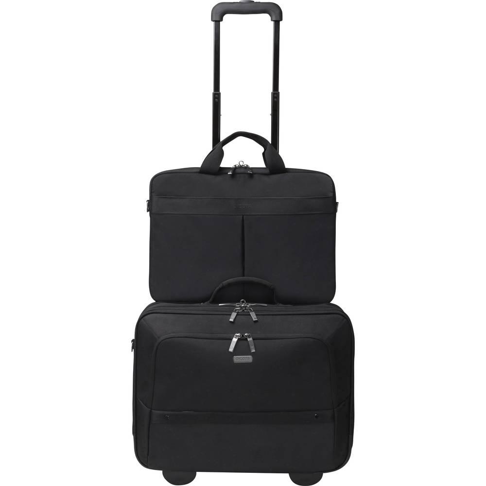 Dicota kufřík na kolečkách pro notebooky Eco Multi Roller SELECT 14-17.3 černá