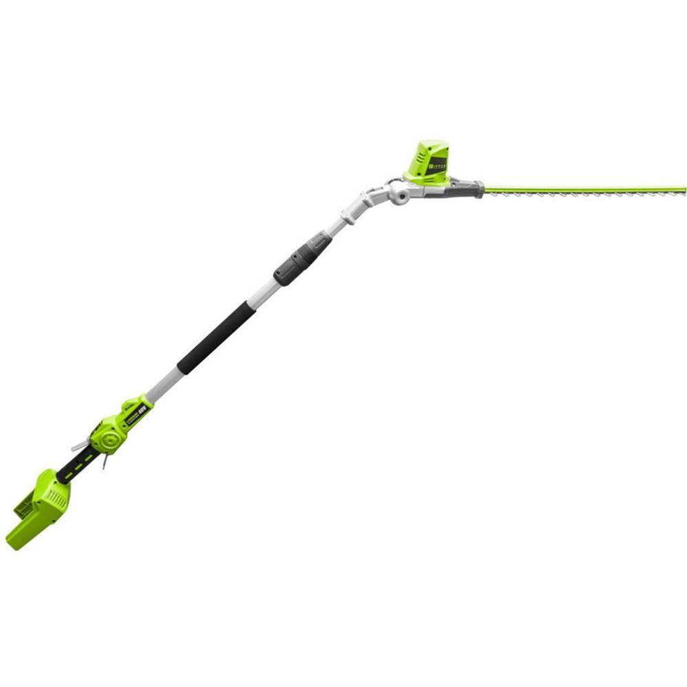 Zipper ZI-HST40V-AKKU akumulátor teleskopické nůžky na živý plot 40 V Li-Ion akumulátor 520 mm