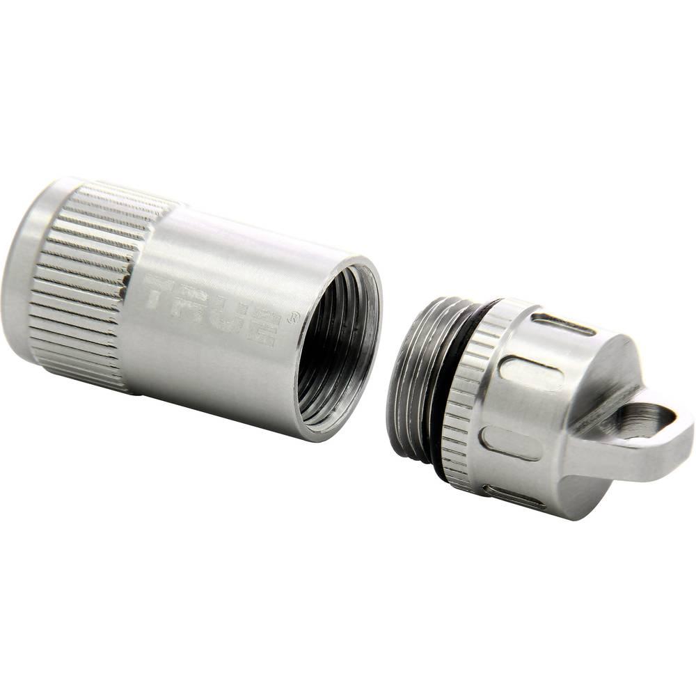 True Utility věšák na klíče TU251 Cashtash+, SOS-Kapsel nerezová ocel 1 ks