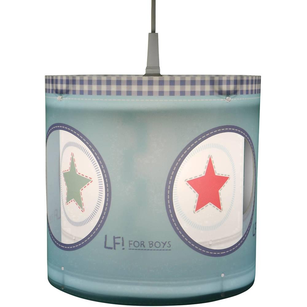 Niermann Lief for Boys hvězda závěsné světlo úsporná žárovka, LED E27 60 W modrá