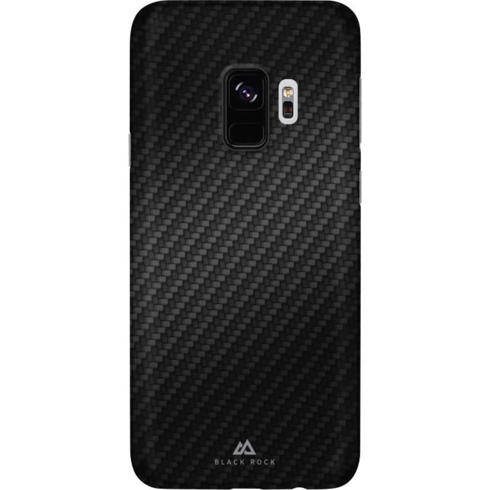 Black Rock Ultra Thin Iced zadní kryt na mobil Samsung Galaxy S9 karbonová
