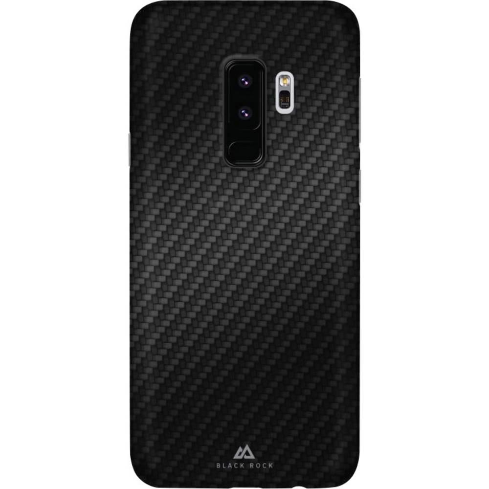 Black Rock Utra Thin Iced zadní kryt na mobil Samsung Galaxy S9+ karbonová