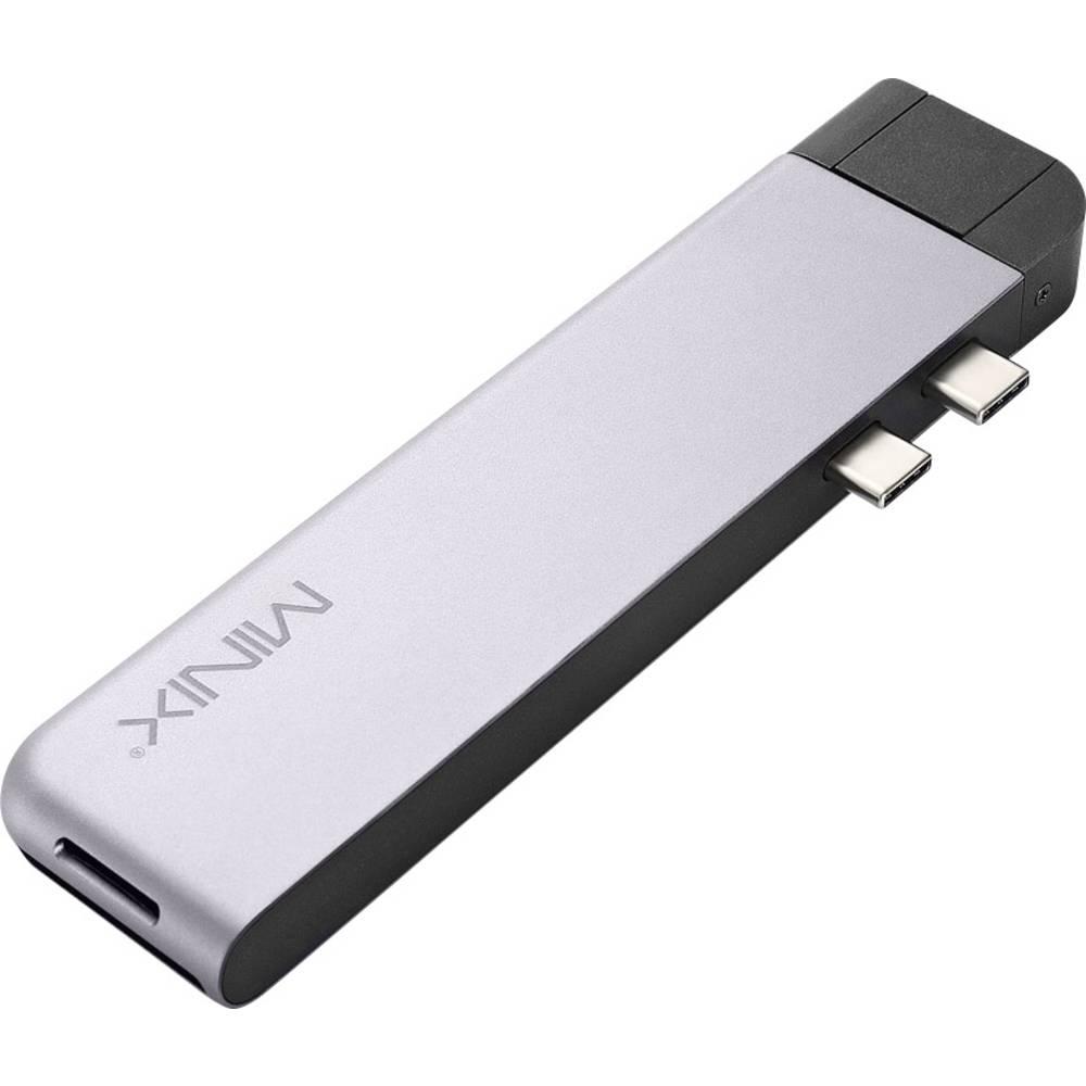 Minix NEO-C-DSGR-PRO dokovací stanice pro notebook vhodné pro značky: Apple vč. funkce nabíjení