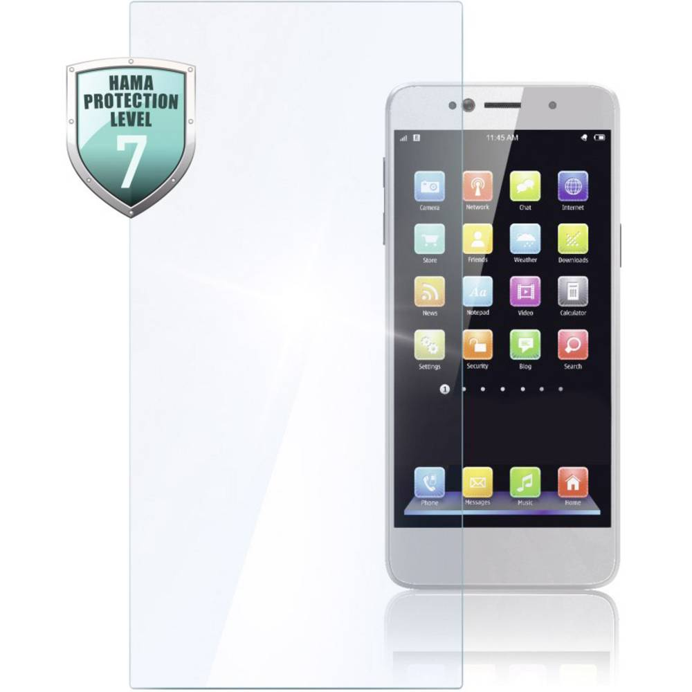 "Hama GL.SCR.PROT.UNI.,5,2"" ochranné sklo na displej smartphonu Vhodné pro: Smartphones 4,9"" - 5,1"" 1 ks"