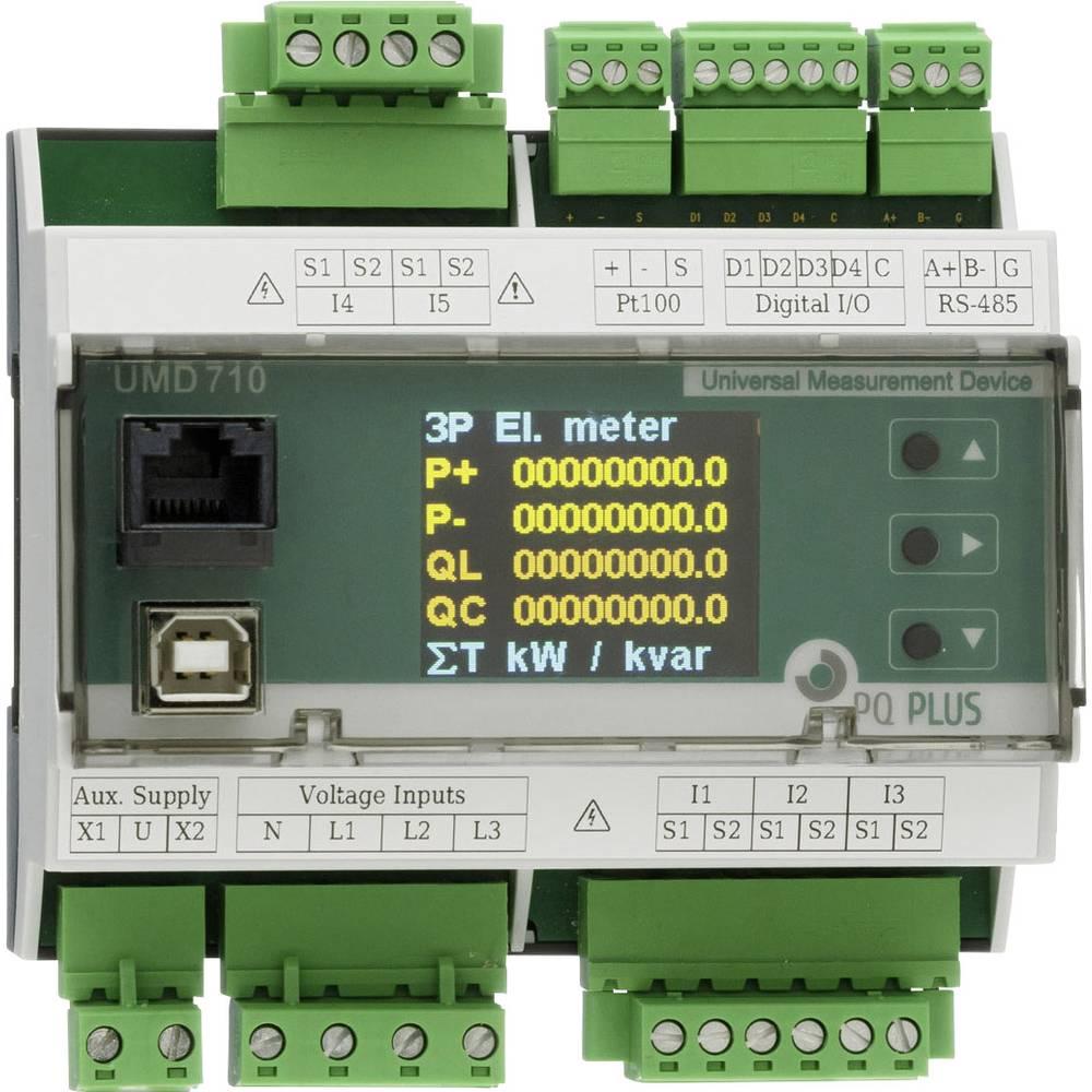 PQ Plus UMD 709 digitální měřič na DIN lištu UMD 709 (UH: 230 V / O:1000 V / 5 A)