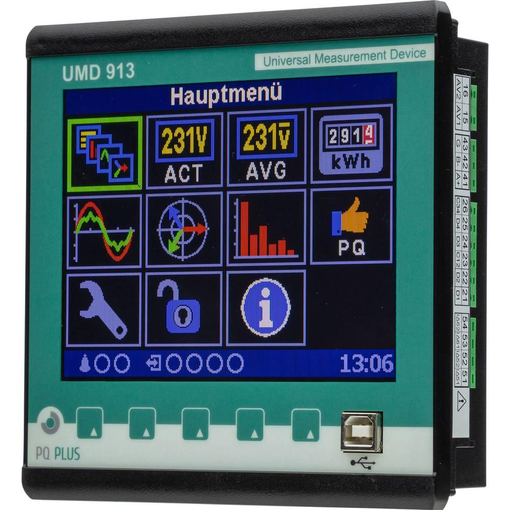 PQ Plus UMD 913 digitální panelový měřič UMD 913 (UH: 230 V / O:1000 V / 5 A)