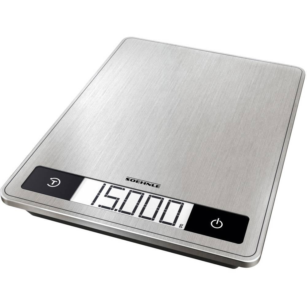Soehnle KWD Page Profi 200 digitální kuchyňská váha digitální, s upevněním na stěnu Max. váživost=15 kg nerezová ocel