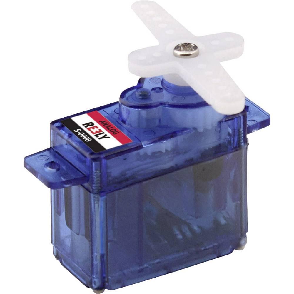 Reely mini servo analogové servo Materiál převodovky: plast Zásuvný systém: JR