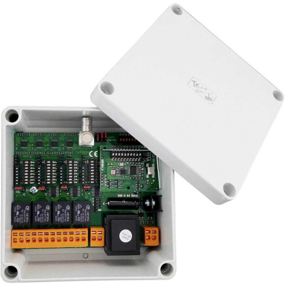 SVS Nachrichtentechnik SHR-12 K4 4kanálové bezdrátový přijímač Max. dosah: 750 m