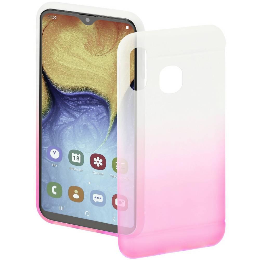 Hama Cover Colorful zadní kryt na mobil Samsung Galaxy A20e růžová, transparentní