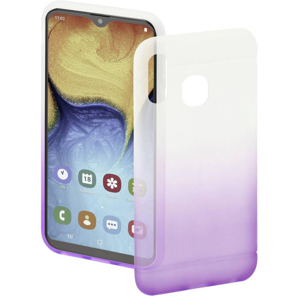Hama Cover Colorful zadní kryt na mobil Samsung Galaxy A20e fialová, transparentní