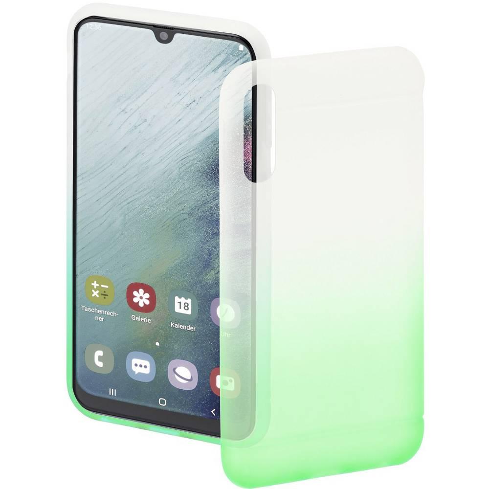 Hama Cover Colorful zadní kryt na mobil Samsung Galaxy A50, Galaxy A30 zelená, transparentní