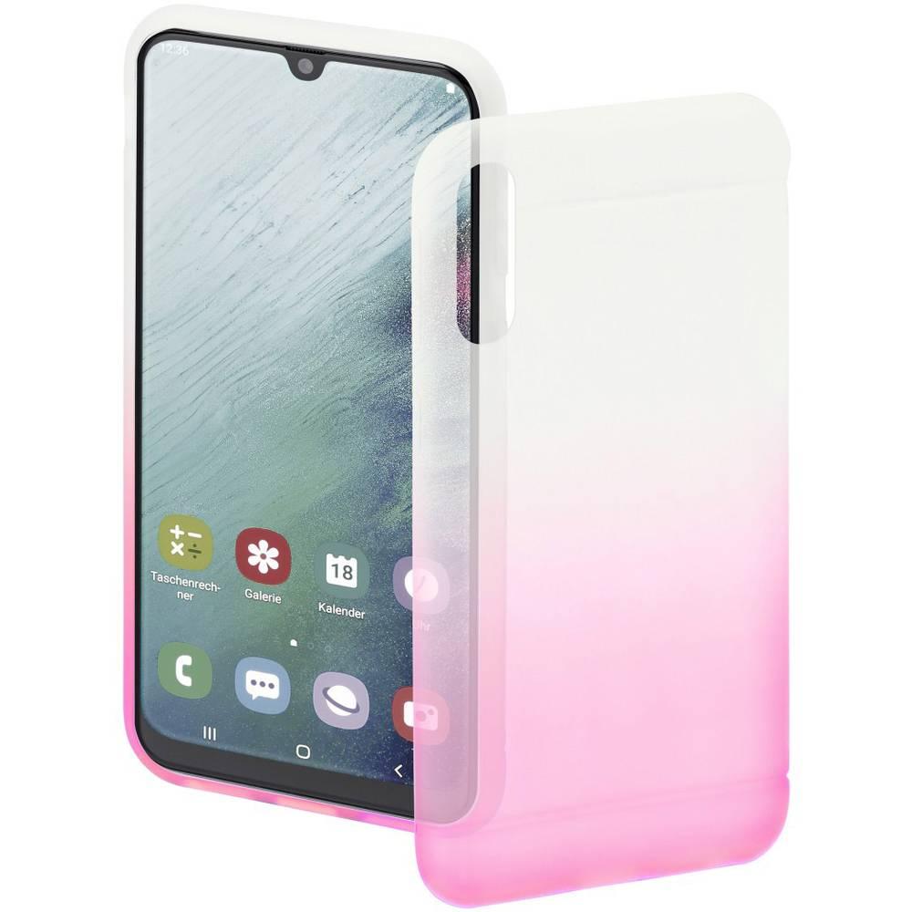 Hama Cover Colorful zadní kryt na mobil Samsung Galaxy A50, Galaxy A30 růžová, transparentní