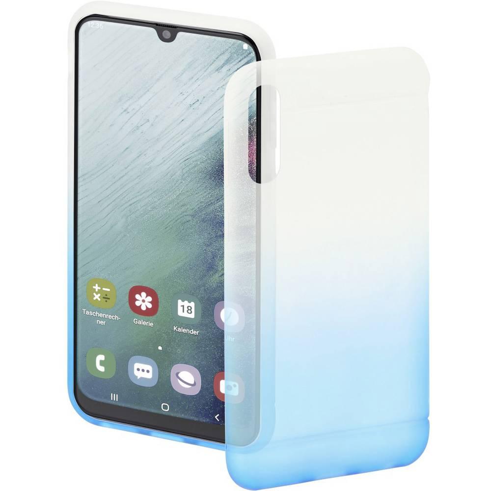 Hama Cover Colorful zadní kryt na mobil Samsung Galaxy A50 modrá (transparentní)