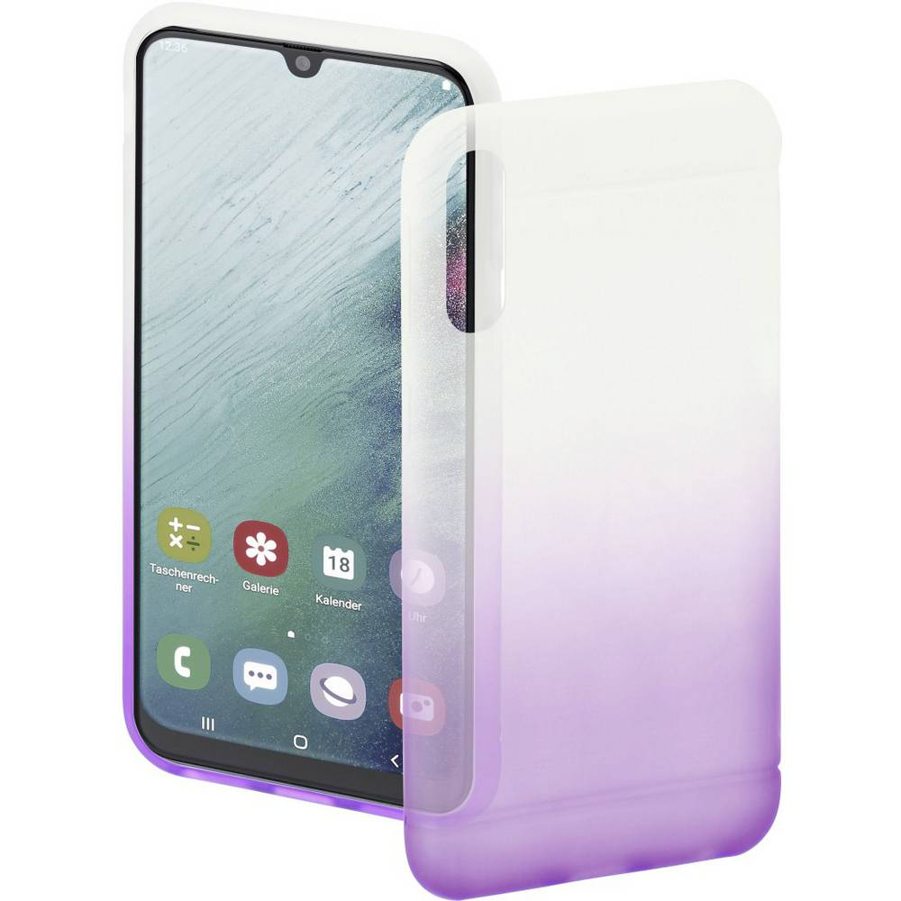 Hama Cover Colorful zadní kryt na mobil Samsung Galaxy A50, Galaxy A30 lila (transparentní)